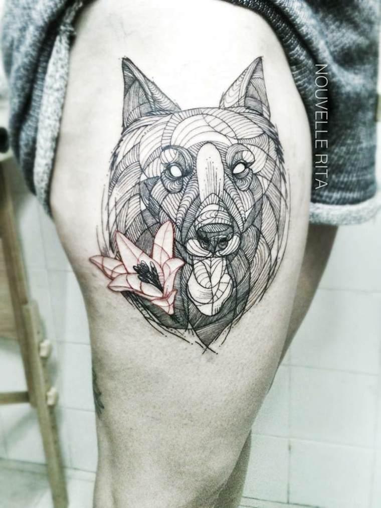 original tatu cara lobo