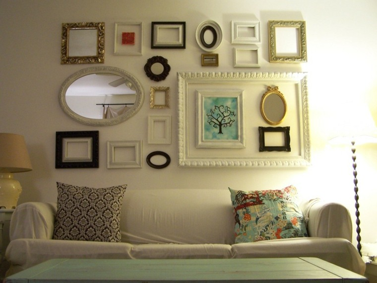 Decorar con espejos 34 ideas alucinantes para interiores for Marcos para espejos de pared