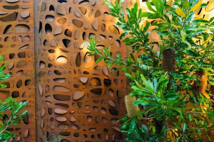 paredes espaciales fuentes muebles texturas