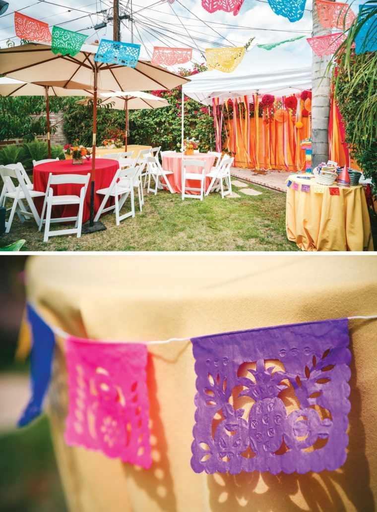 party colorido opciones jardin interesante ideas