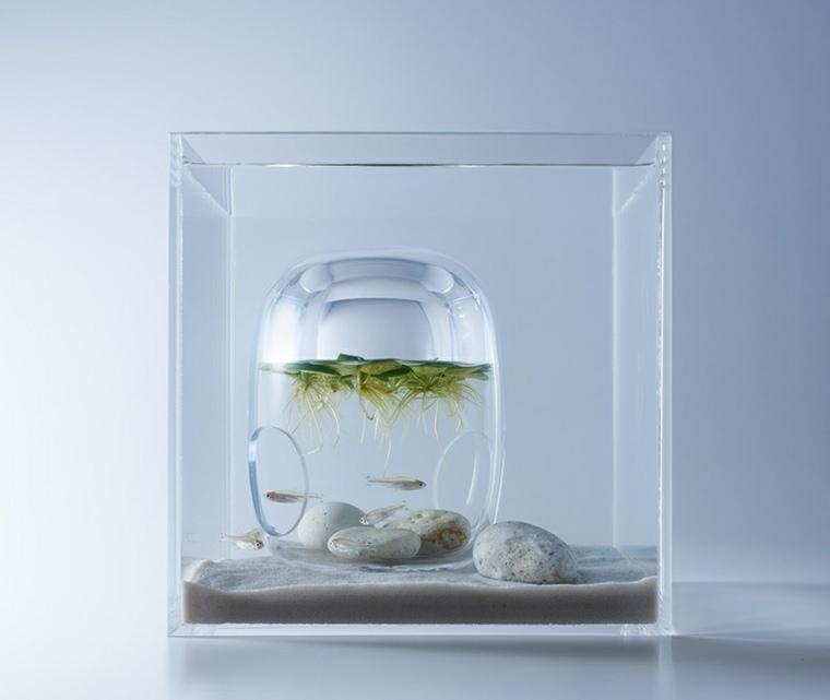 Impresion 3d adornos para acuarios de haruka misawa Peceras de diseno