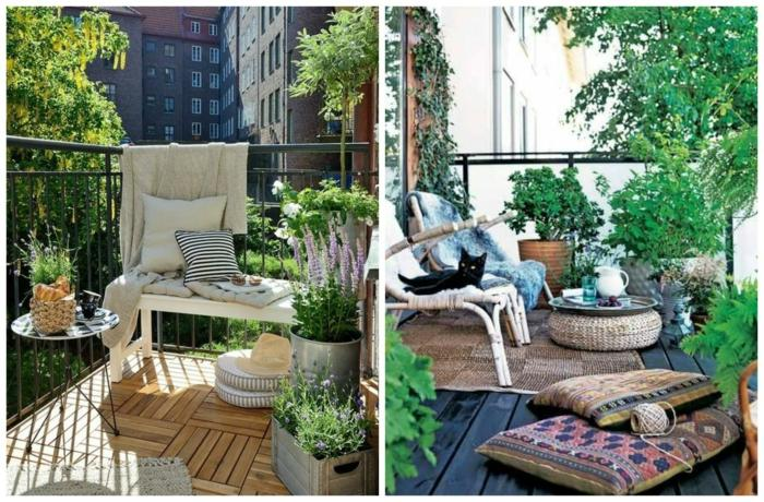 Estilo bohemio consejos y soluciones para patios y terrazas - Fuentes para terraza ...