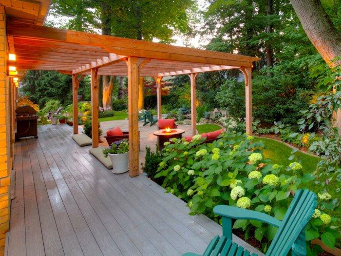 Pergolas de madera dise o pr ctico en 42 ideas creativas - Pergolas de diseno ...