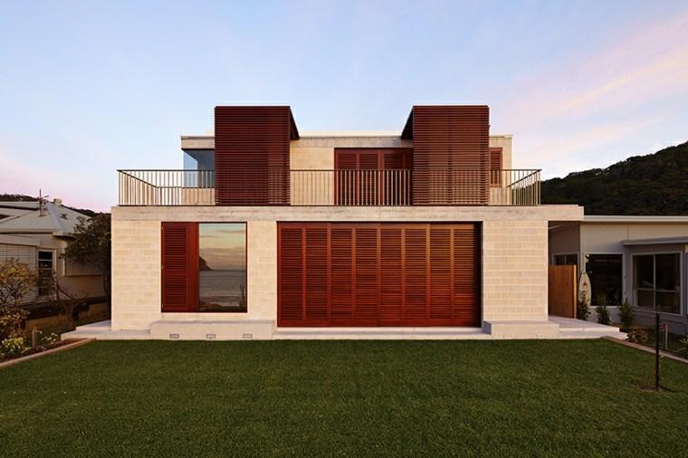persiana exterior diseno casa Australia de Porebski Architects ideas