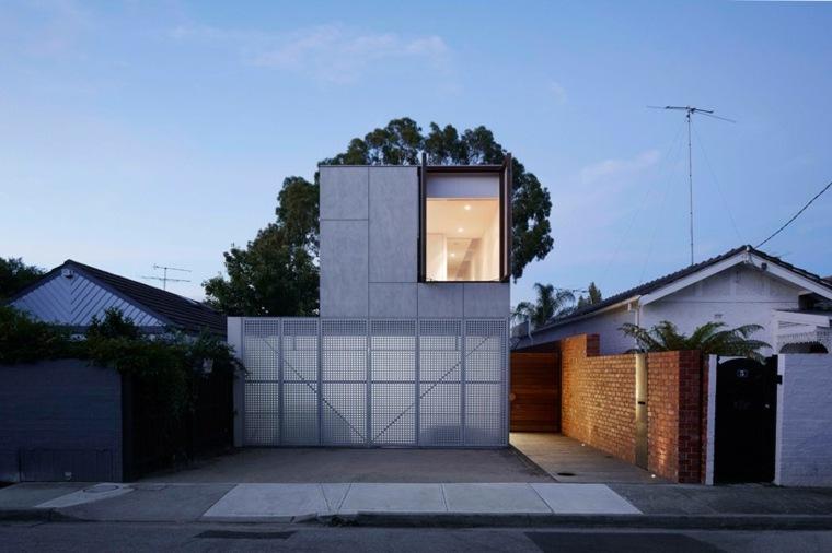 persiana exterior diseno ideas residencia Jackson Clements Burrows