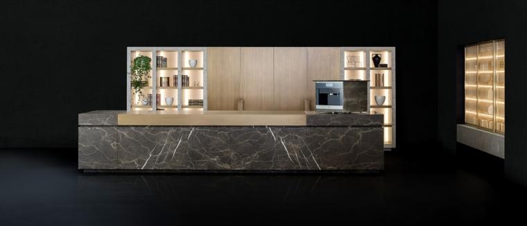 piedra natural conjunto cocina disenda NEOLITE TM Italia ideas