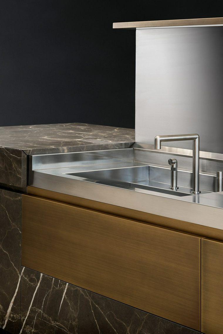 piedra natural lavabo cocina disenda NEOLITE TM Italia ideas
