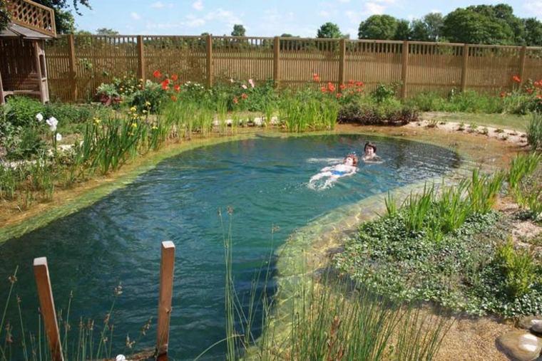 Piscinas naturales sum rjase en las aguas m s puras Piscina natural jardin