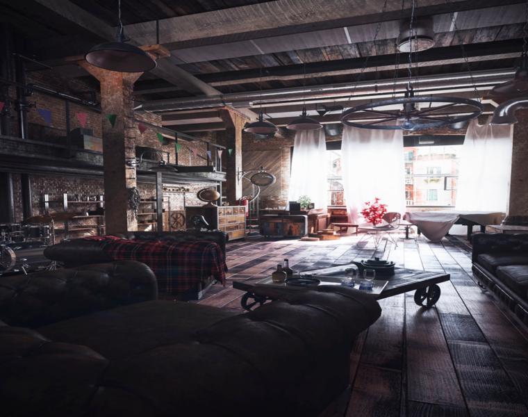 piso tipo loft Artur Saljukov