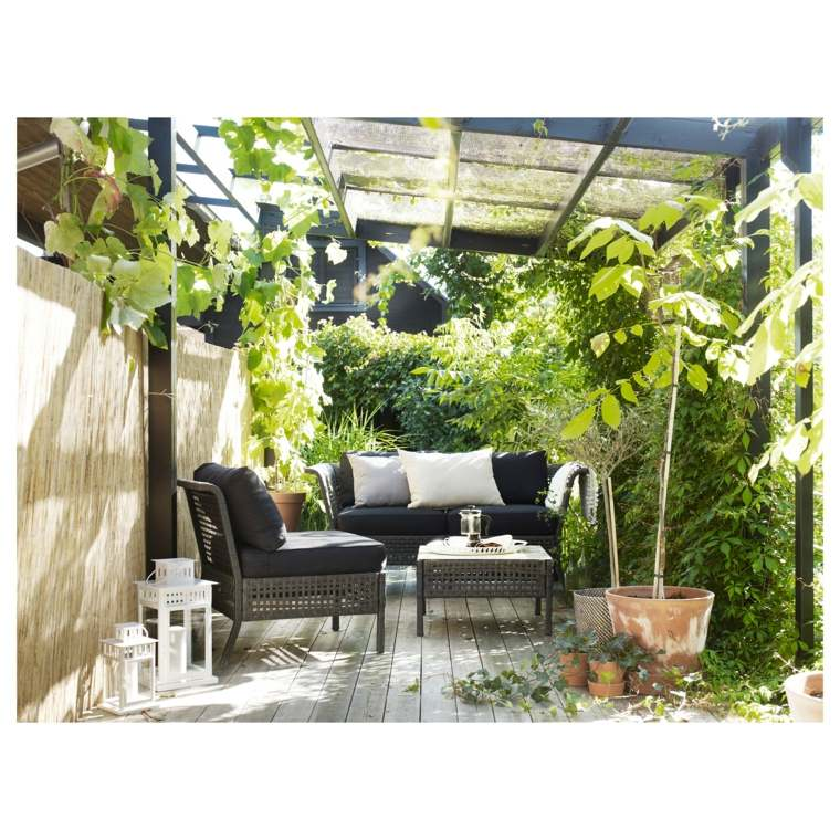 plantas efectos suelos muebles salones