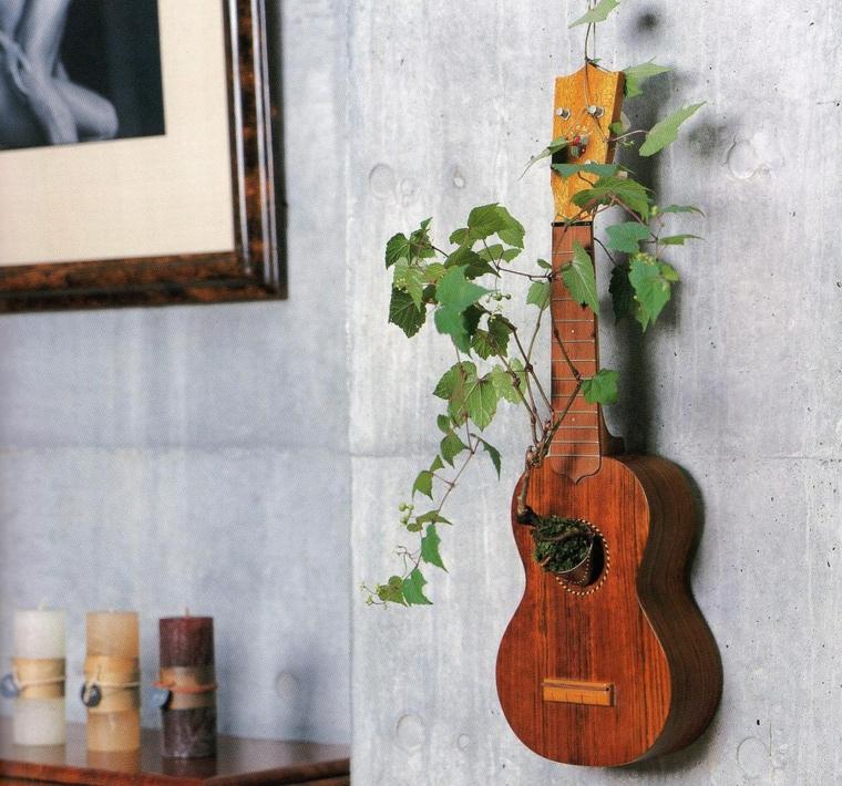 plantas naturales hormigon guitarras efectos