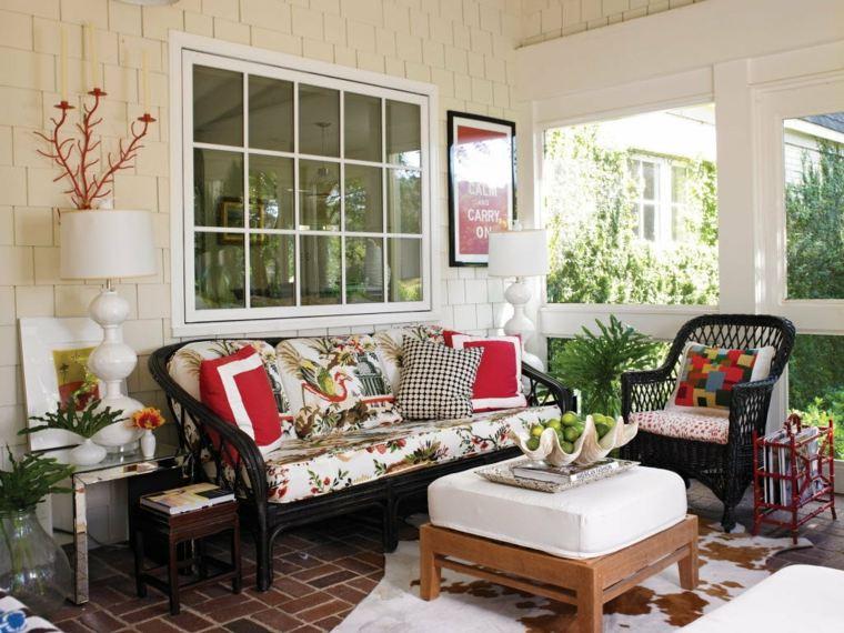 Porches de ensue o dise os encantadores para cada hogar - Como decorar un porche abierto ...