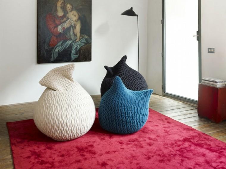 puff pera alfombras estilos conceptos rosa