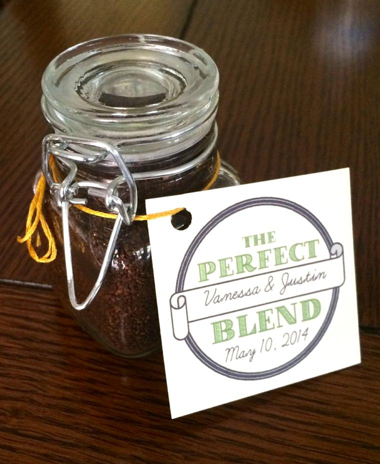 regalos boda originales tarros llenos cafe ideas