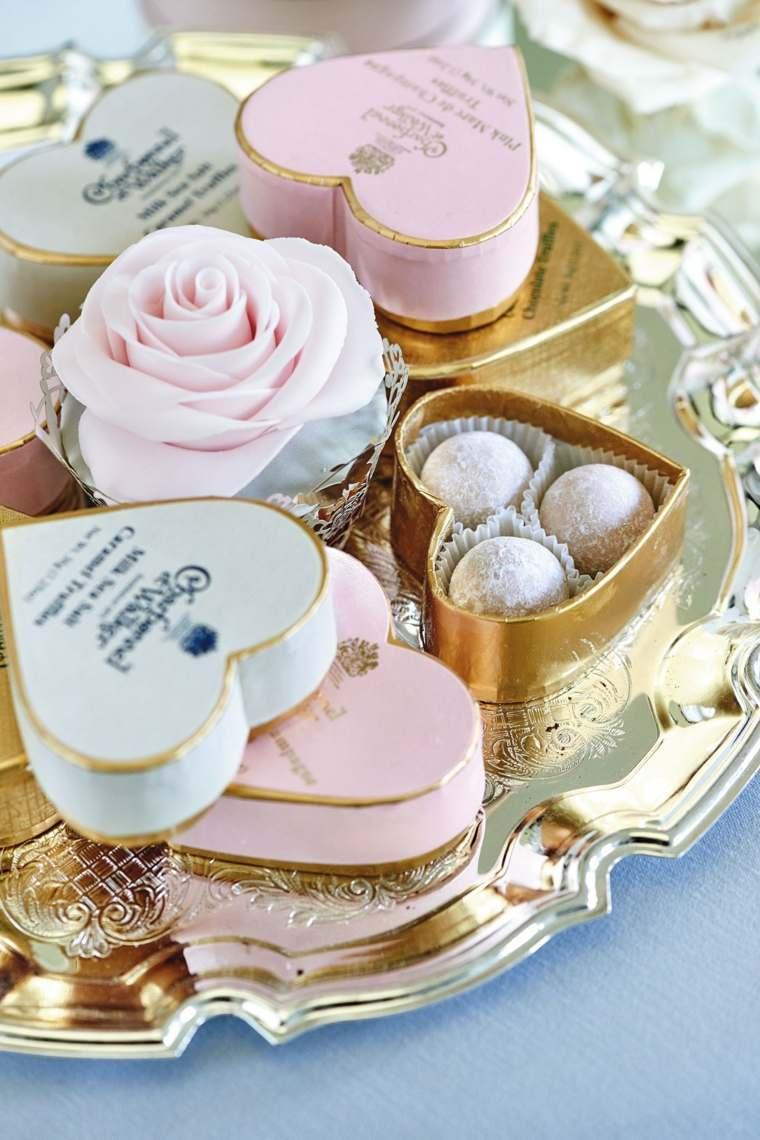 regalos de boda originales cajotas corazon dulces ideas
