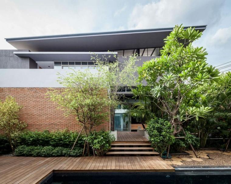residencia privada estilo moderno