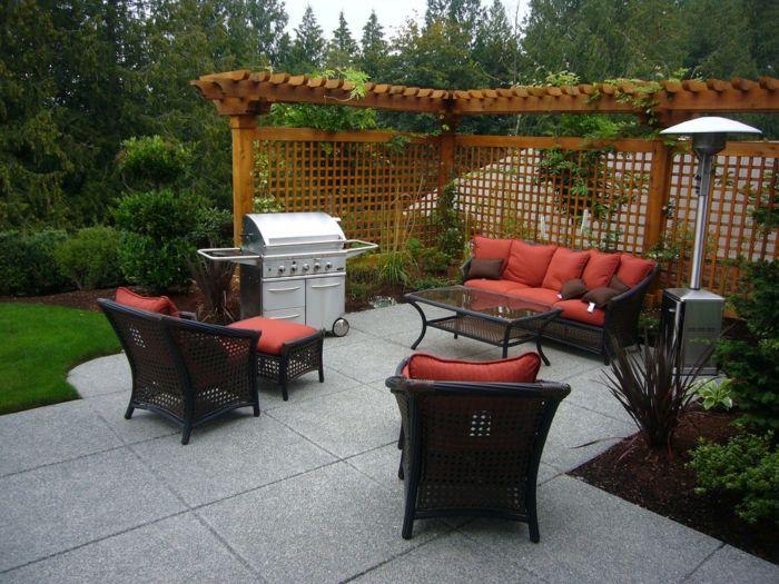 rojos muebles especiales efectos madera