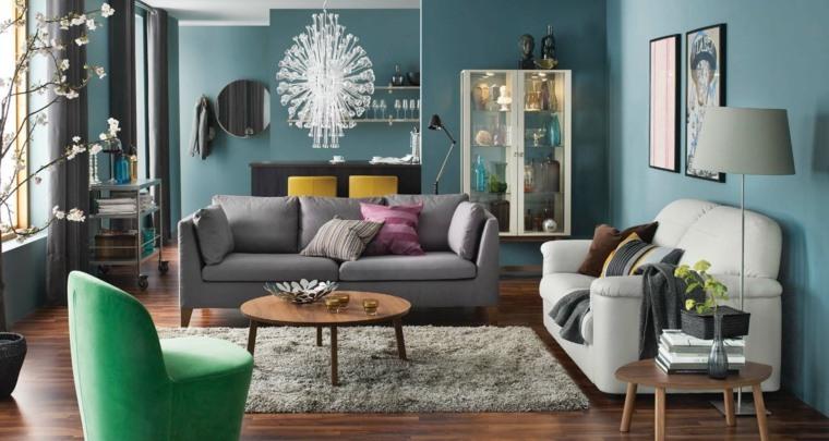 salon urbano colorido muebles bonitos ideas - Muebles Bonitos