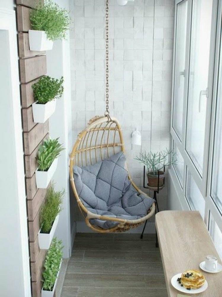 silla colgante bambu terraza deco