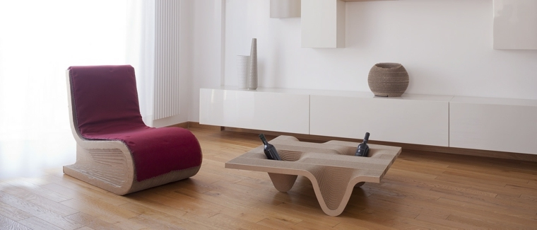 sillon mesa diseno ecologico original ideas