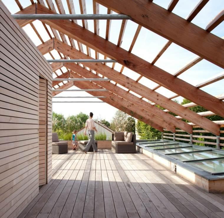 sombra y luz jardin Djuric Tardio Architectes diseno ideas