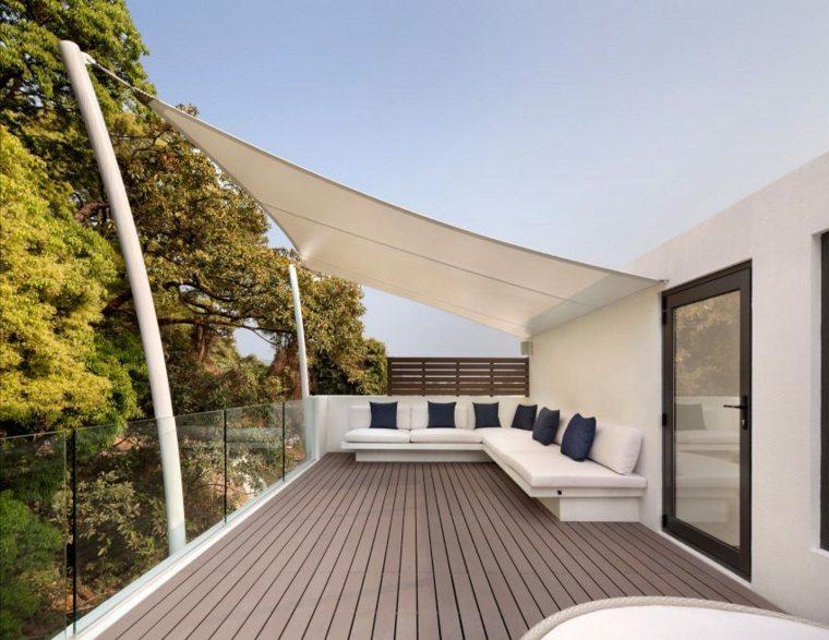sombra y luz jardin terraza opciones proteccion sol ideas