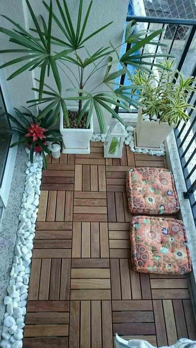 suelo terraza baldosas madera