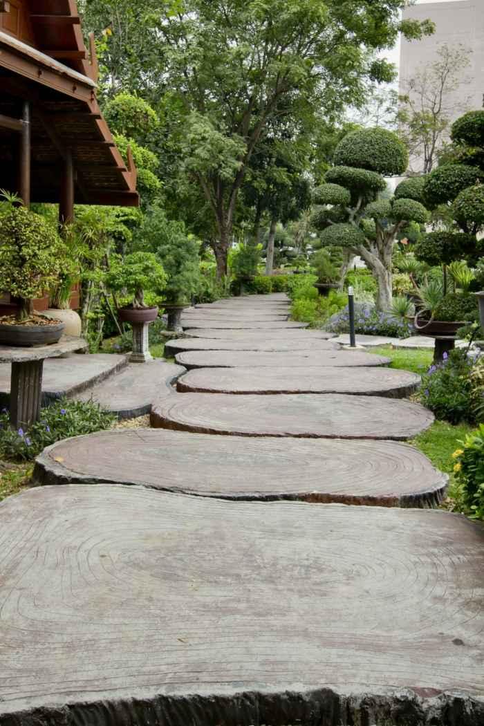 suelos efectos troncos simulaciones escaleras
