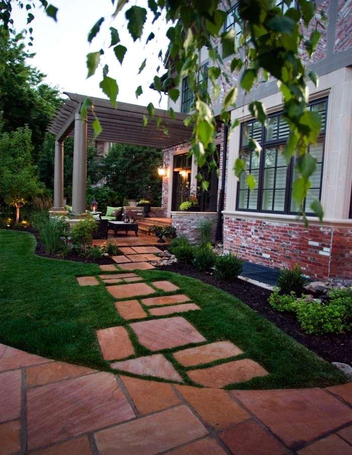 suelos efectos verdes cesped ideas luminarias