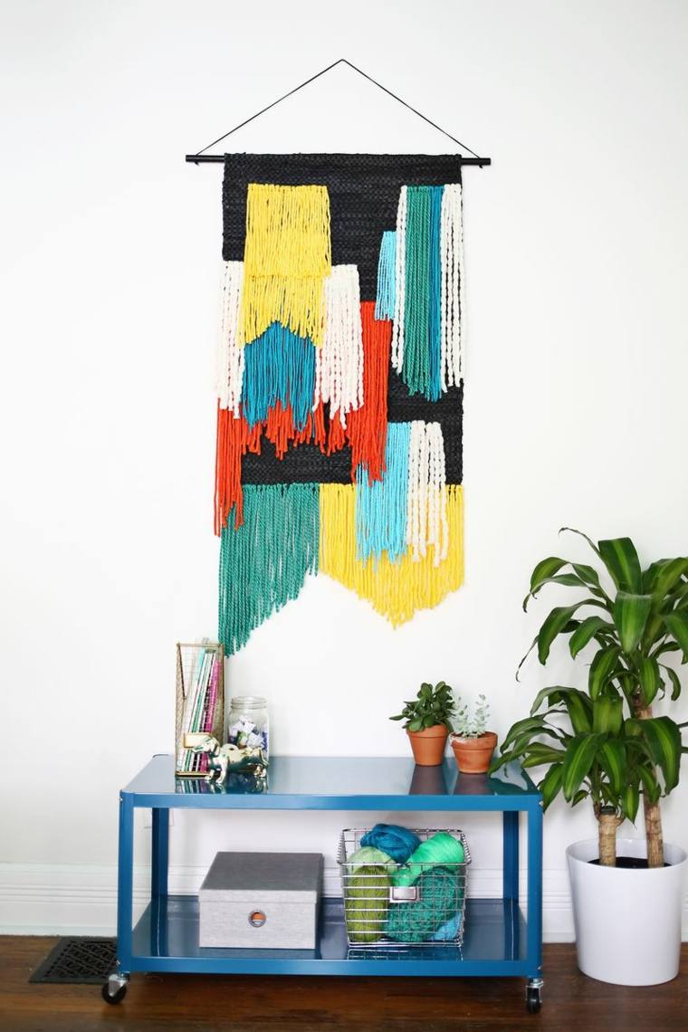 Tapices Y Decoraciones De Pared Con Textiles 30 Ideas