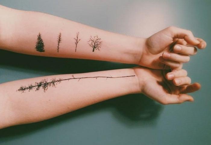 tatuajes-en-el-brazo-opciones-diseno-arboles
