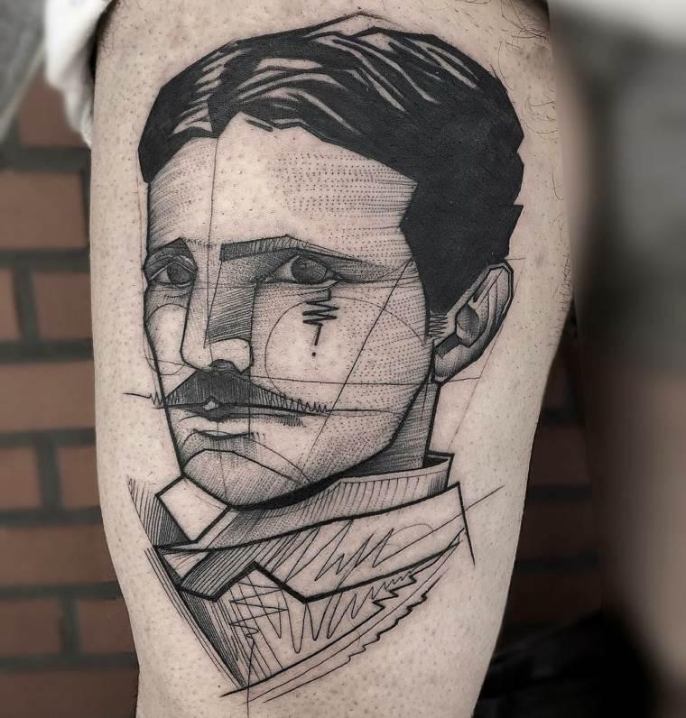 tatuajes especiales muebles ideas ladrillos