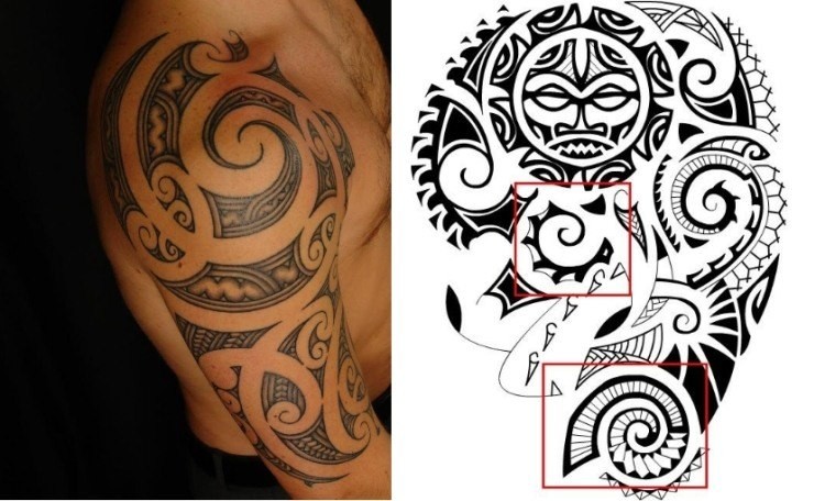 tatuajes maories un arte con simbolismos y significados. Black Bedroom Furniture Sets. Home Design Ideas