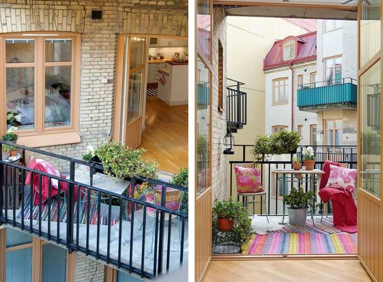 techad balcones especiales muebles colorido