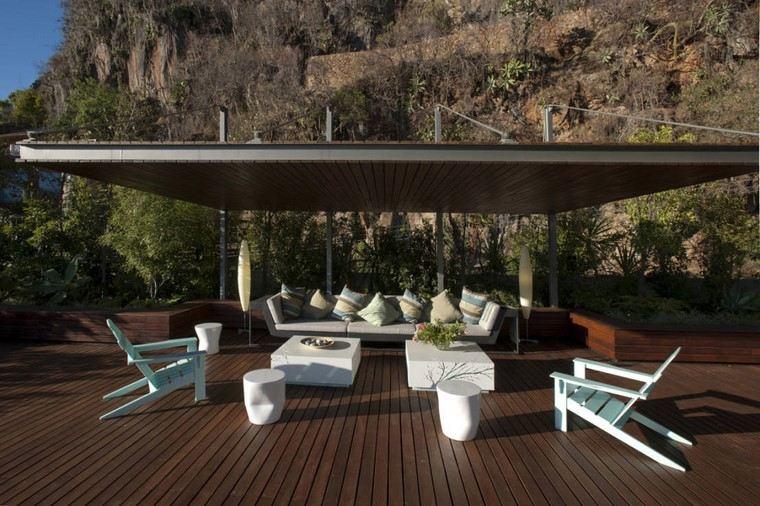 terraza amplia diseno moderno Serrano Monjaraz Arquitectos ideas