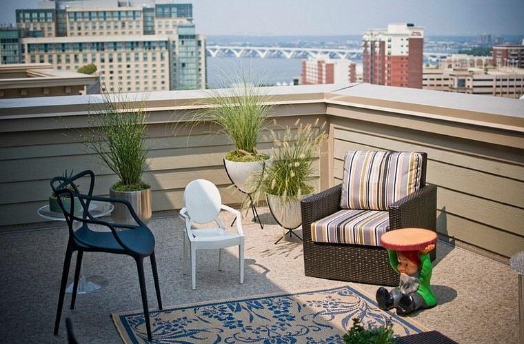 terraza moderna espacios relajarse aire libre decoracion ideas