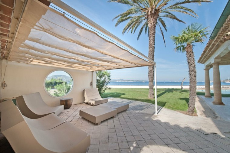 terrazas chill out decoracion proteccion sol ideas