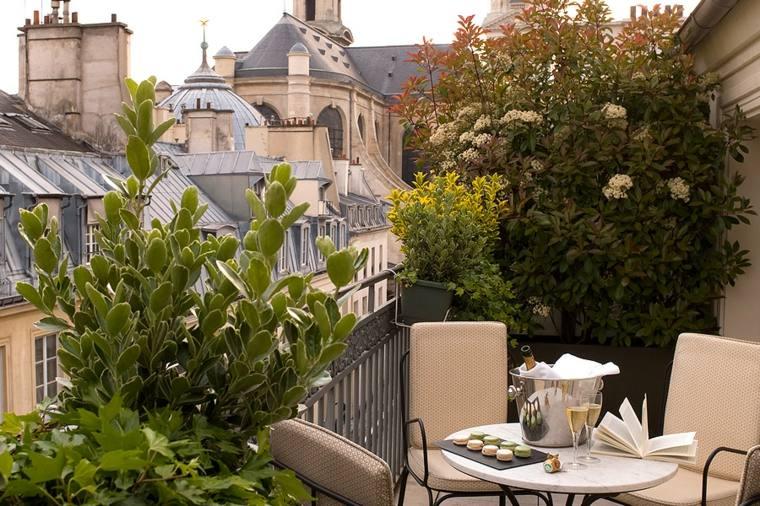terrazas decoracion diseno plantas flores balcon ideas