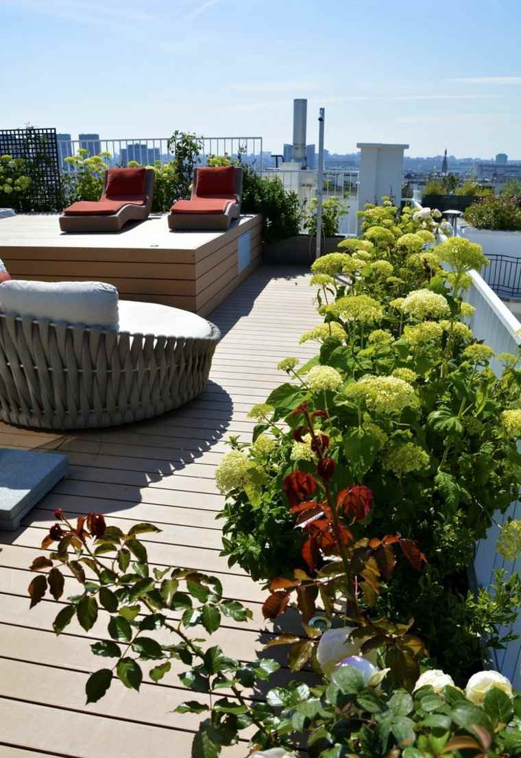 Terrazas decoraci n y dise o en 26 ideas for Macetas terraza diseno