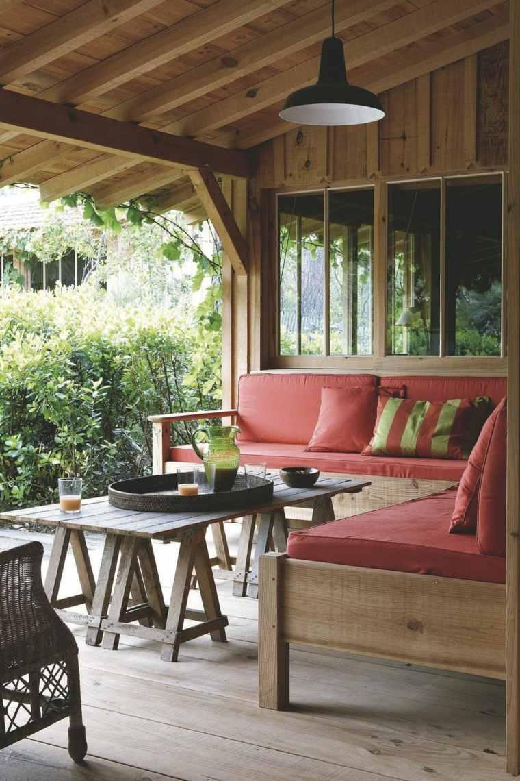 Diseo de porches y terrazas decoracion terrazas cubiertas for Porche diseno