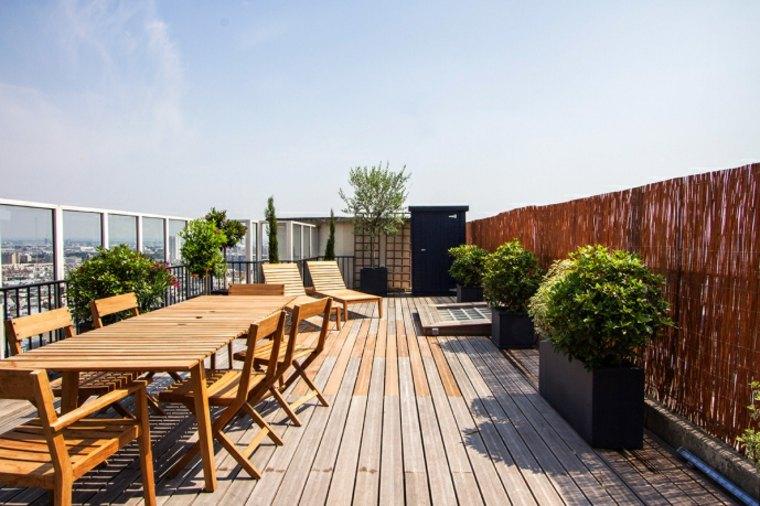 terrazas diseno exteriores amplia suelo madera ideas