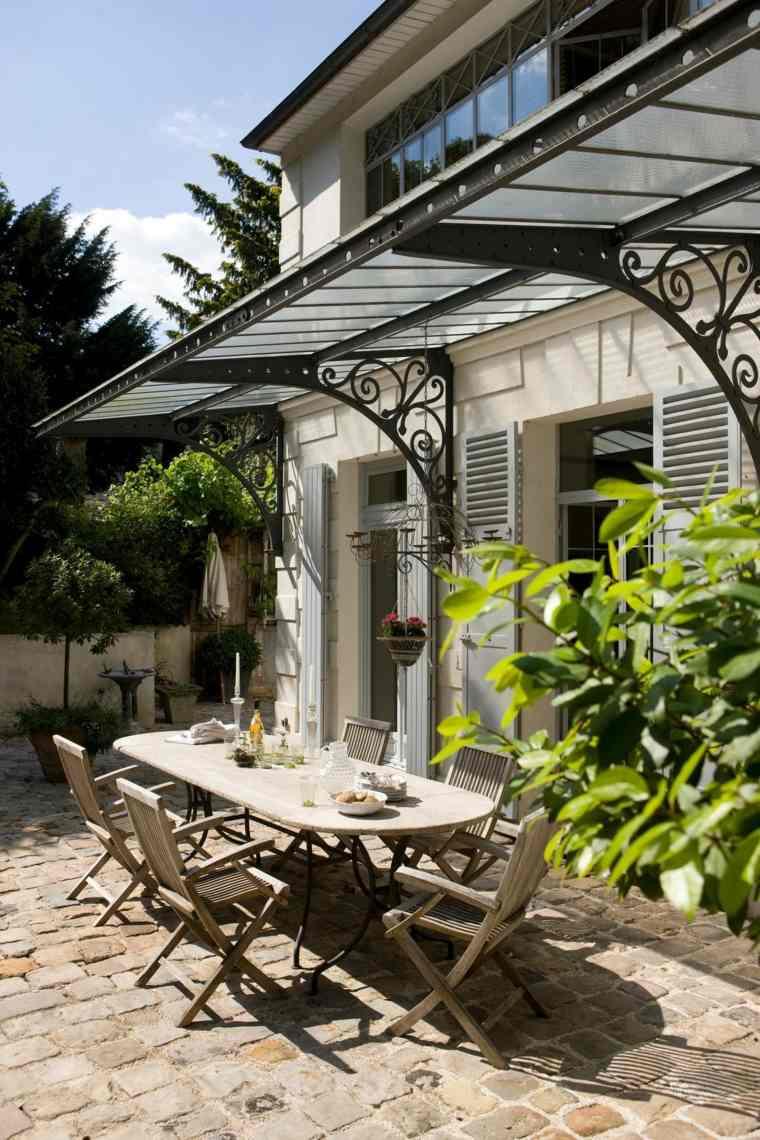 terrazas diseno exteriores muebles madera originales ideas