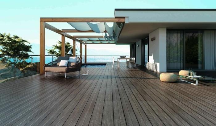 terrazas madera conceptos diferentes pergola