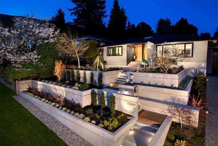 terrazas modernas diseño casa