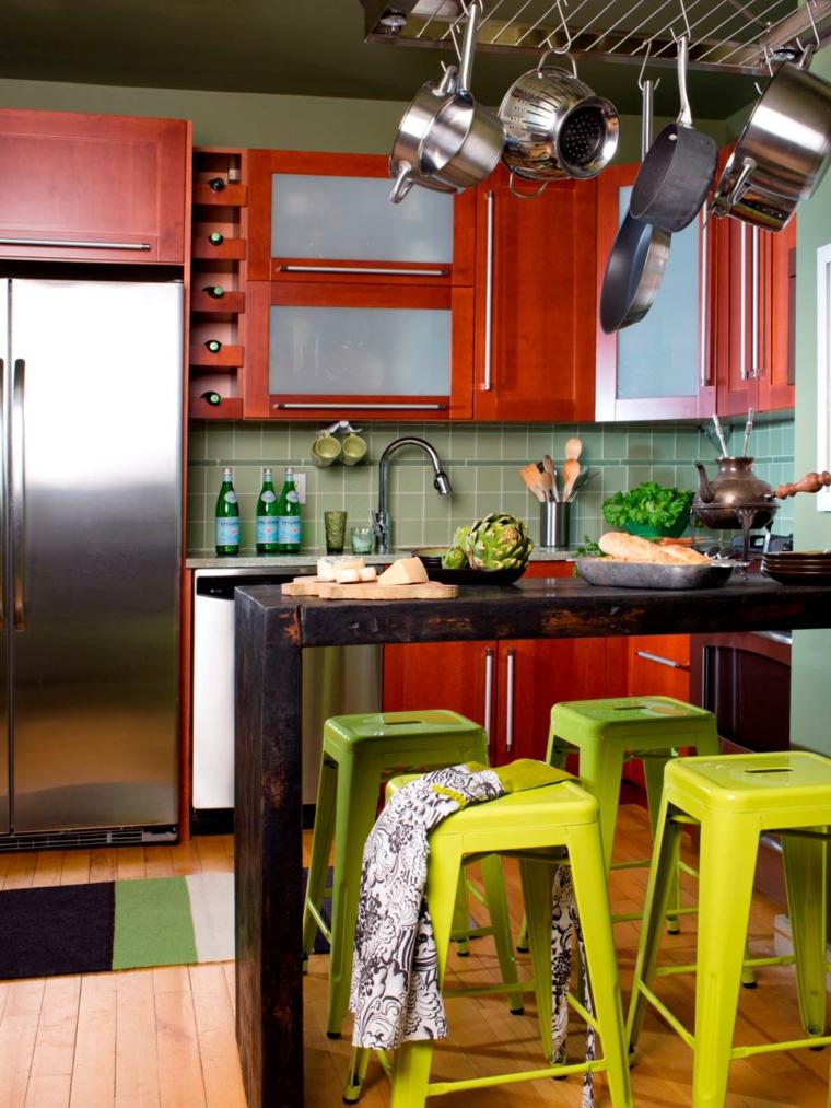trucos ahorrar espacio la cocina