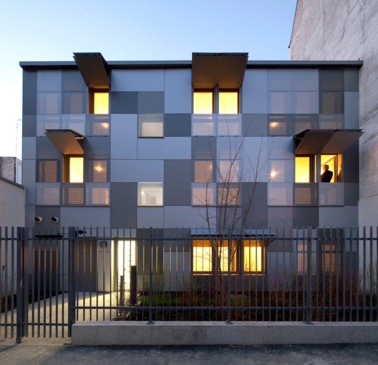 varios apartamentos disenos RMDM architects ideas