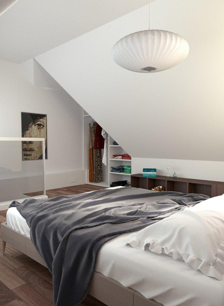vestidor atico diseno dormitorio opciones ideas