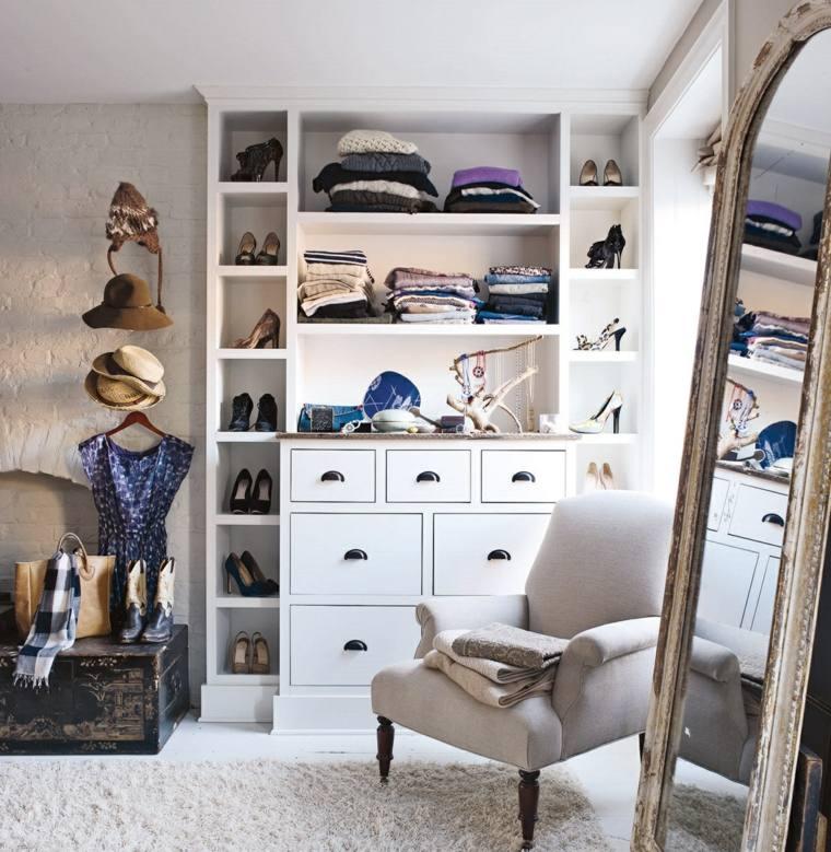 Armarios roperos y vestidores en el tico for Espejo grande habitacion