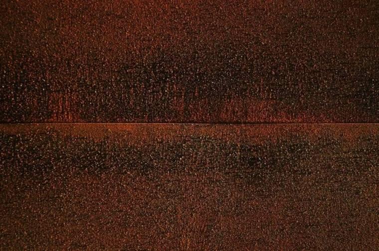 visrta cerca acero rojo corten