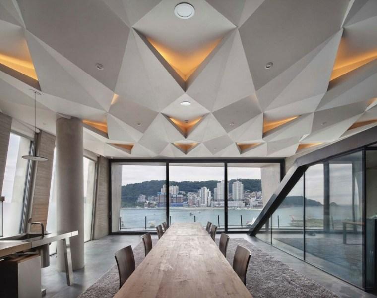 vistas comedor cocinas modernas luminarias